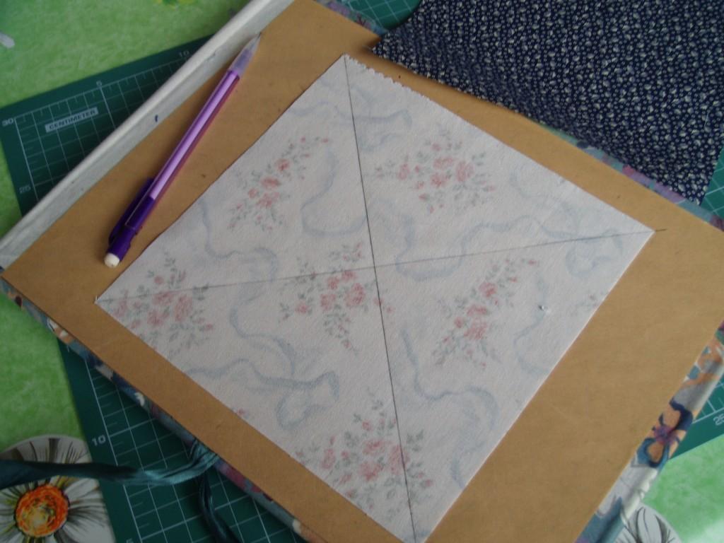 Las diagonales trazadas